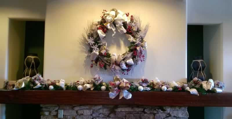 Hyatt Wreath and Garland Woodland800